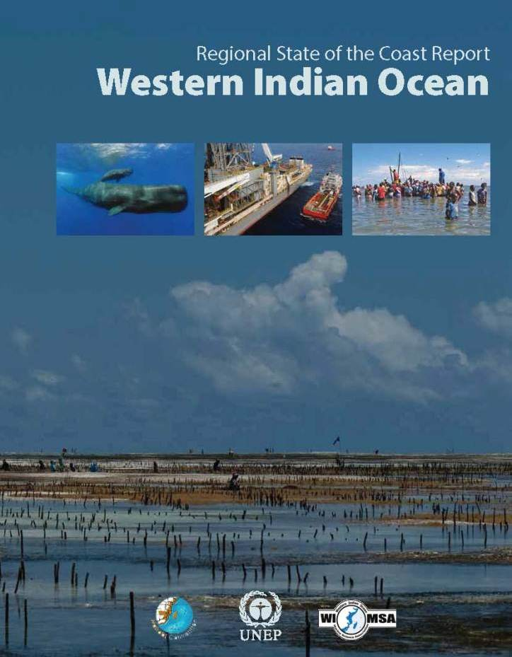 WIO Regional State of Coast Report - RSOCR Cover Page
